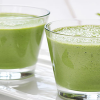 Green Vanilla Flavored Smoothie
