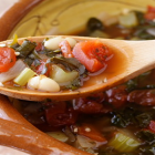 White Bean and Red Kale Soup