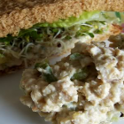 Vegan Mock Chicken Salad Made With Tempeh
