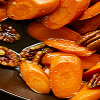 Glazed Carrots and Pecans Side Dish