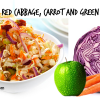 Green Apple, Purple Cabbage and Carrot Coleslaw