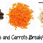 Rolled Oat and Carrot Breakfast Cereal