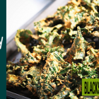 Cheesy Kale Chips - The Perfect Superfood Snack!
