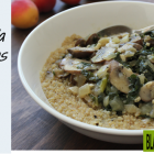 Test Kitchen - Cozy Millet Bowl With Mushroom Gravy and Kale