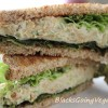 Chickpea Mock Tuna Salad Sandwich
