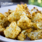 Easy Vegan Recipe - Roasted Cauliflower