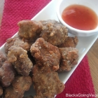 Chicken Nuggets Made with Seitan Vegan Style