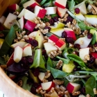 Dried Cranberry, Walnut and Apple Salad
