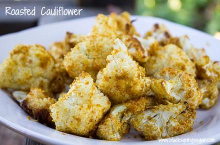 Easy Vegan Recipe – Roasted Cauliflower
