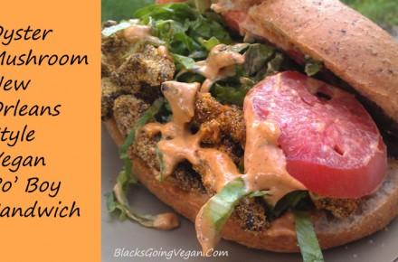 New Orleans Style Vegan Po' Boy Sandwich