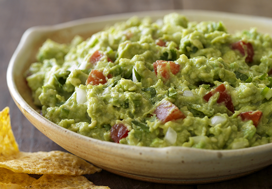 this recipe for guacamole from the california avocado commission ...