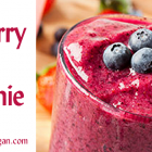 Blueberry Silken Tofu Smoothie