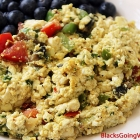 Delicious Fast and Easy Tofu Scramble
