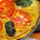 End of Summer Vegan Vegetable Frittata