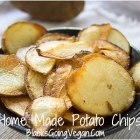 Vegan Junk Food - Making Vegan Potato Chips