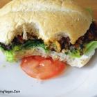 Slap Ya Mama Black Bean and Sweet Potato Burgers