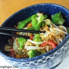 Chinese Style Vegetable Fried Rice