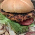 Cajun Spiced Chickpea Burgers - Vegan