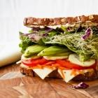 Beast Mode Overstuffed Veggie Sandwich
