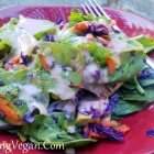 Red Onion and Garlic Salad Dressing